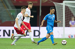 June 10, 2019 - Warsaw, Poland - Eran Zahavi (ISR) during the UEFA Euro 2020 qualifier Group G football match Poland against Israel on June 10, 2019 in Warsaw, Poland. (Credit Image: © Foto Olimpik/NurPhoto via ZUMA Press)