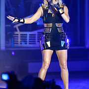 "COLUMBIA, MD - June 9th, 2011: Fergie of the Grammy Award-wining hip-hop group The Black Eyed Peas performs at Merriweather Post Pavilion in Columbia, MD. The group recently released the single ""Don't Stop The Party"" from their sixth studio album, The Beginning. (Photo by Kyle Gustafson/For The Washington Post)"