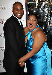 Mo'nique and husband Sidney Hicks attend the 'Welcome Home Roscoe Jenkins' premiere held at the Chinese Theatre in Hollywood.