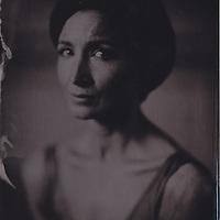 Lauren Cuthbertson, principal ballet dancer, Royal Opera House, London, wetplate collodion tintype portrait