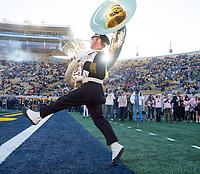 October 21, 2017; , Berkeley, California, USA; Football: Arizona Wildcats at California Golden Bears; Cal Band<br /> Photo credit: Kelley L Cox- KLC fotos