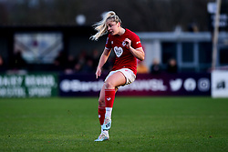 Poppy Pattinson of Bristol City has a shot on goal - Mandatory by-line: Ryan Hiscott/JMP - 08/12/2019 - FOOTBALL - Stoke Gifford Stadium - Bristol, England - Bristol City Women v Birmingham City Women - Barclays FA Women's Super League