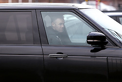 Derby County manager Wayne Rooney arrives at Pride Park Stadium, home to Derby County - Mandatory by-line: Ryan Crockett/JMP - 16/01/2021 - FOOTBALL - Pride Park Stadium - Derby, England - Derby County v Rotherham United - Sky Bet Championship