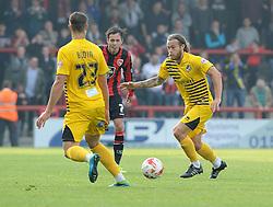 Stuart Sinclair - Mandatory byline: Neil Brookman/JMP - 07966 386802 - 03/10/2015 - FOOTBALL - Globe Arena - Morecambe, England - Morecambe FC v Bristol Rovers - Sky Bet League Two