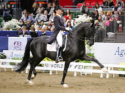 Van Grunsven Anky (NED) - IPS Painted Black<br /> FEI World Cup Dressage - Grand Prix<br /> Göteborg 2010<br /> © Hippo Foto - Lotta Gyllensten
