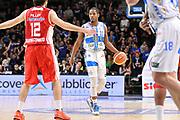 DESCRIZIONE : Campionato 2014/15 Serie A Beko Dinamo Banco di Sardegna Sassari - Giorgio Tesi Group Pistoia<br /> GIOCATORE : Jerome Dyson<br /> CATEGORIA : Palleggio<br /> SQUADRA : Dinamo Banco di Sardegna Sassari<br /> EVENTO : LegaBasket Serie A Beko 2014/2015 <br /> GARA : Dinamo Banco di Sardegna Sassari - Giorgio Tesi Group Pistoia<br /> DATA : 01/02/2015 <br /> SPORT : Pallacanestro <br /> AUTORE : Agenzia Ciamillo-Castoria/C.Atzori <br /> Galleria : LegaBasket Serie A Beko 2014/2015