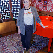 NLD/Amsterdam/20190228 - Opening Holland Zingt Hazes 2019 Backstage Cafe, Roxanne Hazes