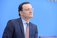 12 FEB 2021, BERLIN/GERMANY:<br /> Jens Spahn, CDU, Bundesgesundheitsminister, Pressekonferenz zur Corona-Lage im Lockdown, Bundespressekonferenz<br /> IMAGE: 20210212-01-016<br /> KEYWORDS: Corvid-19