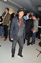 ANDY WONG at Diego Bivero-Volpe's 30th birthday party in aid of the charity Kids Company held at the Rook & Raven Gallery, 7 Rathbone Place, London W1 on 12th April 2013.