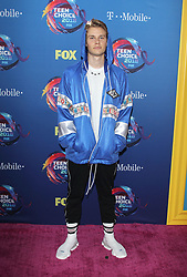 Fox Teen Choice Awards 2018. 12 Aug 2018 Pictured: Logan Shroyer. Photo credit: Jaxon / MEGA TheMegaAgency.com +1 888 505 6342