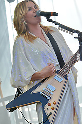 Grace Potter and the Nocternals at The Gathering of the Vibes 27 July 2013.