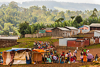 Saturday market of the Dorze tribe, Chencha,  Southern Nations Nationalities and People's Region, Ethiopia.