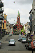 St. John's Church, city of Bergen, Norway completed 1894