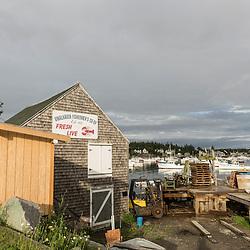 The Vinalhaven Fishermen's Co-op in Vinalhaven, Maine.