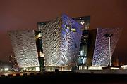 The Titanic Centre in Belfast City in Northern Ireland.<br /> Photo: Don MacMonagle <br /> e: info@macmonagle.com