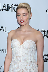 Amber Heard attends the 2018 Glamour Women of the Year Awards at Spring Studios in New York