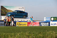 Maximilian Kieffer (GER) plays from the sunkist 16th tee during Round One of the 2015 Alstom Open de France, played at Le Golf National, Saint-Quentin-En-Yvelines, Paris, France. /03/07/2015/. Picture: Golffile | David Lloyd<br /> <br /> All photos usage must carry mandatory copyright credit (© Golffile | David Lloyd)