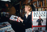 Kelly Flinn, the first female B-52 bomber pilot in the US Air Force at a book signing at Politics & Prose November 25, 1997 in Washington, DC.