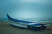 Fishing Boat at Dawn - Chennai, India
