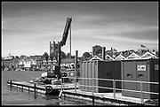 Henley-On-Thames, Berkshire, UK., Tuesday,  01/06/2021, ,  2021 Regatta Course Construction,[ Mandatory Credit © Peter Spurrier/Intersport Images],