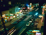 CS00939-06. State Street, Salem, at night