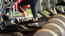 Embargoed to 0005 Tuesday August 15 File photo dated 24/02/09 of a person in a gym, as the majority of GPs are unfamiliar with national guidelines on physical activity, a new study suggests.