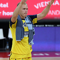 Alba Berlin jubelt über den Finaleinzug<br /> #43 Luke Sikma Alba von Alba Berlin    <br /> Basketball, nph0001 1.Bundesliga BBL-Finalturnier 2020.<br /> Halbfinale Spiel 2 am 24.06.2020.<br /> <br /> Alba Berlin vs EWE Baskets Oldenburg <br /> Audi Dome<br /> <br /> Foto: Christina Pahnke / sampics  / POOL / nordphoto<br /> <br /> National and international News-Agencies OUT - Editorial Use ONLY