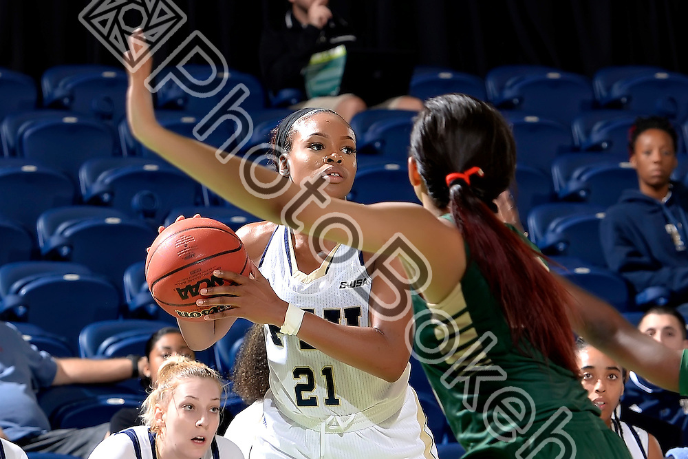 2016 February 04 - FIU's Destini Feagin (21). <br /> Florida International University defeated UAB, at FIU Arena, Miami, Florida. (Photo by: Alex J. Hernandez / photobokeh.com) This image is copyright by PhotoBokeh.com and may not be reproduced or retransmitted without express written consent of PhotoBokeh.com. ©2016 PhotoBokeh.com - All Rights Reserved