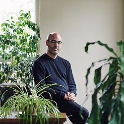 Montreal, QC, Canada. June 8, 2015. Alain Deneault is an author and a professor in the political science department of the Université de Montréal. Photo: Antoine Doyen