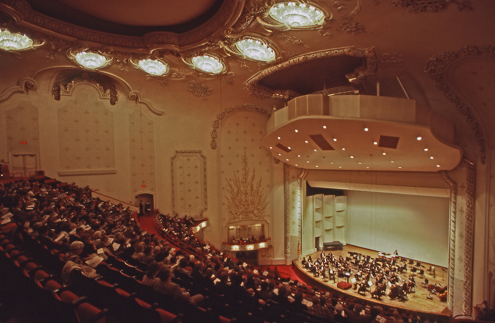 Heinz Hall for the Performing Arts, Pittsburgh Orchestra, Pittsburgh, PA