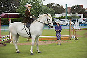 NICOLA WATSON, MRS. SADLER, Bexhill Horse show. Polegrove, Bexhill on Sea. 29 May 2016