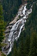 Grawa waterfall, Stubai Valley, Tyrol, Austria