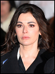 The TV Chef Nigella Lawson leaves Isleworth Crown Court. London, United Kingdom. Wednesday, 4th December 2013. The TV chef has spent the day giving evidence at the trial for Francesca and Elisabetta Grillo, who appear charged with fraud after allegedly using a company credit card to defraud the TV chef and her former husband out of £300,000. Picture by Andrew Parsons / i-Images<br /> File Photo  - Nigella Lawson and Charles Saatchi PAs cleared of fraud. The trial of Francesca Grillo, 35, and sister Elisabetta, 41, heard they spent £685,000 on credit cards owned by the TV cook and ex-husband Charles Saatchi.<br /> Photo filed Monday 23rd December 2013
