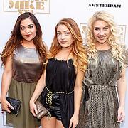 NLD/Amsterdam/20150701 - Filmpremiere Magic Mike XXL, O'gene, Shelley Vol, Amy Vol en Lisa Vol