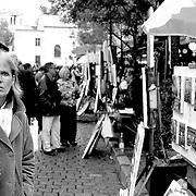 Psycho woman, Paris, France (October 2004)