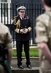 © London News Pictures. 10/11/2012. London, UK. Admiral Sir Mark Stanhope OBE on Downing Street on November 11, 2012. Photo credit: Ben Cawthra/LNP