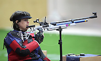 Paralympics London 2012 - ParalympicsGB - Shooting Womens R2-10m Air Rifle Standing - SH1 Heats 30th August 2012<br />   <br /> Karen Butler competing in the Womens R2-10m Air Rifle Standing - SH1 Heats at the Paralympic Games in London. Photo: Richard Washbrooke/ParalympicsGB