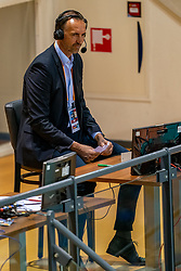 Peter Blange during the CEV Eurovolley 2021 Qualifiers between Croatia and Netherlands at Topsporthall Omnisport on May 16, 2021 in Apeldoorn, Netherlands