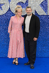 May 20, 2019 - London, England, United Kingdom - Andy Serkis (R) and Lorraine Ashbourne arrive for the UK film premiere of 'Rocketman' at Odeon Luxe, Leicester Square on 20 May, 2019 in London, England. (Credit Image: © Wiktor Szymanowicz/NurPhoto via ZUMA Press)