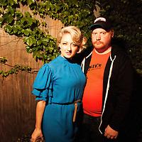 Glennis McCarthy, Matt McCarthy - G.L.O.C. [Gorgeous Ladies of Comedy] Re-Launch Party - Littlefield - Brroklyn, New York - May 2, 2012