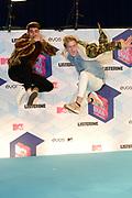 MTV European Music Awards at the AHOY, Rotterdam.<br /> <br /> On the photo:  Jack Gilinsky & Jack Johnson alias Jack and Jack