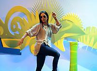 20110730: RIO DE JANEIRO, BRAZIL - Brazilian singer Ivete Sangalo attending Qualification draw for the 2014 World Cup held at the Marina da Gloria in Rio<br /> PHOTO: CITYFILES