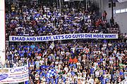DESCRIZIONE : Campionato 2014/15 Dinamo Banco di Sardegna Sassari - Olimpia EA7 Emporio Armani Milano Playoff Semifinale Gara6<br /> GIOCATORE : Settore D<br /> CATEGORIA : Tifosi Pubblico Spettatori Striscione<br /> SQUADRA : Dinamo Banco di Sardegna Sassari<br /> EVENTO : LegaBasket Serie A Beko 2014/2015 Playoff Semifinale Gara6<br /> GARA : Dinamo Banco di Sardegna Sassari - Olimpia EA7 Emporio Armani Milano Gara6<br /> DATA : 08/06/2015<br /> SPORT : Pallacanestro <br /> AUTORE : Agenzia Ciamillo-Castoria/L.Canu