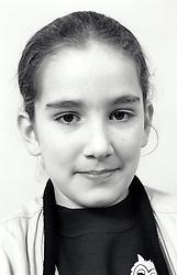 Portrait of a girl UK 1990s MR