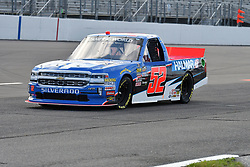 June 22, 2018 - Madison, Illinois, U.S. - MADISON, IL - JUNE 22:  Stewart Friesen (52) driving a Chevrolet for We Build America warms up before the Camping World Truck Series - Eaton 200 on June 22, 2018, at Gateway Motorsports Park, Madison, IL.   (Photo by Keith Gillett/Icon Sportswire) (Credit Image: © Keith Gillett/Icon SMI via ZUMA Press)
