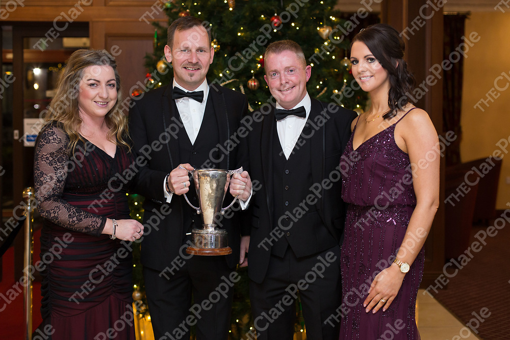 Anita and Jude Quinlivan, Diarmuid and Deirdre O'Sullivan