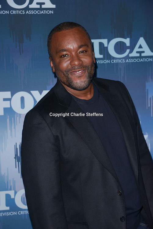LEE DANIELS at the Fox Winter TCA 2017 All-Star Party at the Langham Hotel in Pasadena, California