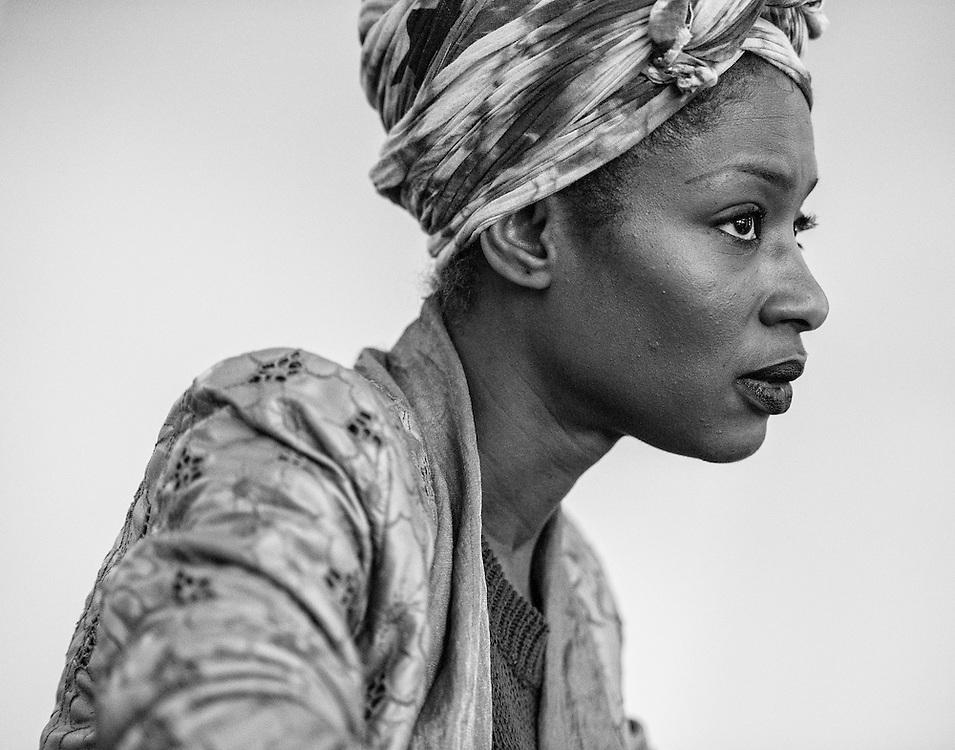 Netherlands. Amsterdam,12-07-2016. Copyright/Foto: Patrick Post.  Portrait of Sylvana Simons.