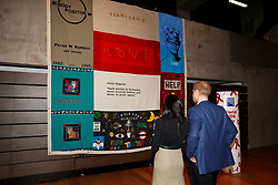 Prince Harry and Meghan Markle attend a Terrence Higgins Trust World AIDS Day charity fair, during a visit to the Nottingham Contemporary in Nottingham, on their first official engagement together.