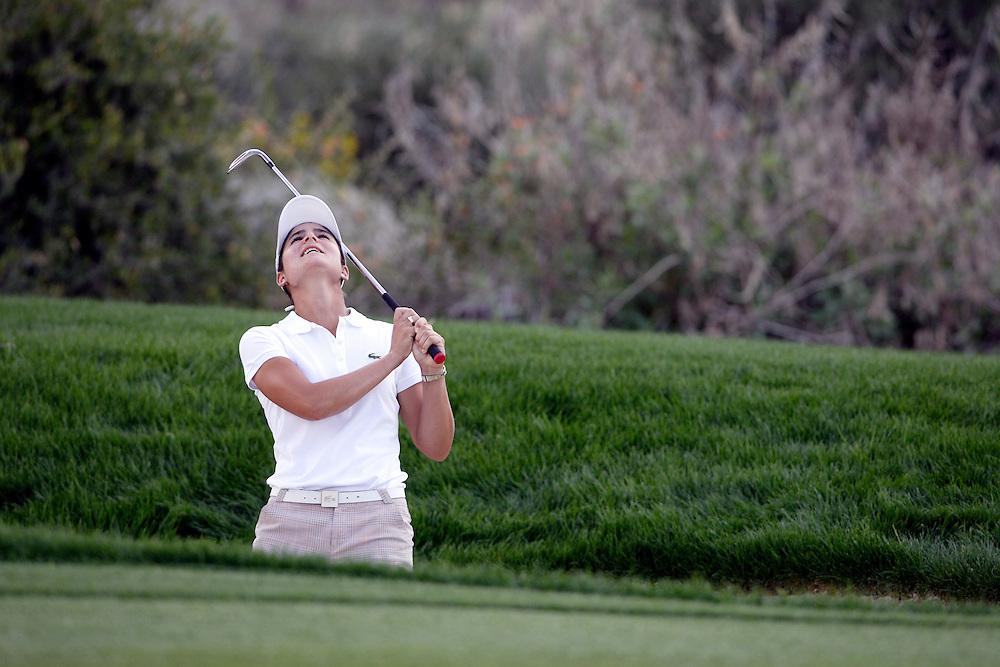 SUPERSTITION MOUNTAIN, AZ, March 24, 2007:   Lorena Ochoa in action at the Safeway International LPGA tournament in Superstition Mountain, AZ on March 24, 2007.